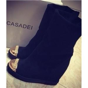 Casadei сапоги с золотым носом