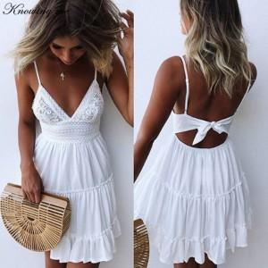 e81d0449b25 Белое летнее платье женское - купить - Интернет-магазин shop-miss.ru